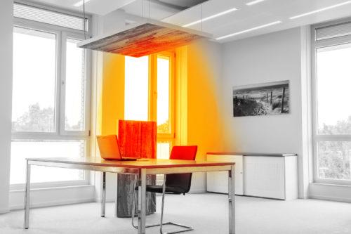 Plafond verwarming met infraroodverwarming