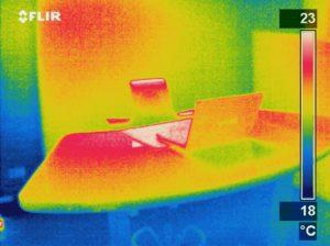 Verwarm je werkplek