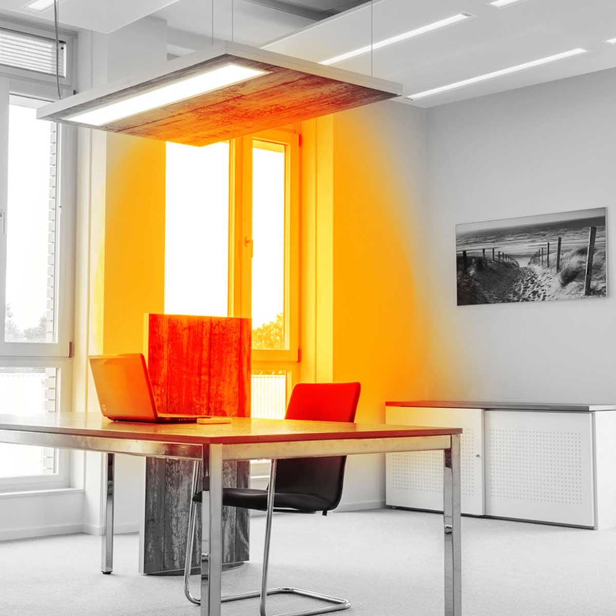 Passie voor werkplek verwarming