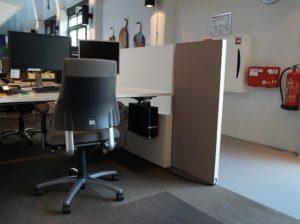 Mobiele infraroodverwarming werkplek