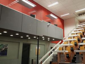 Werkplekverwarming met LED verlichting