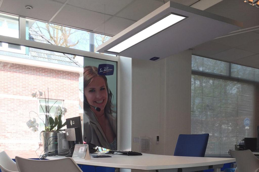 bureau verwarming infrarood panelen