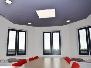 Infrarood verwarming op maat als plafond verwarming
