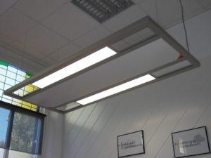 Infraroodverwarming met LED verlichting
