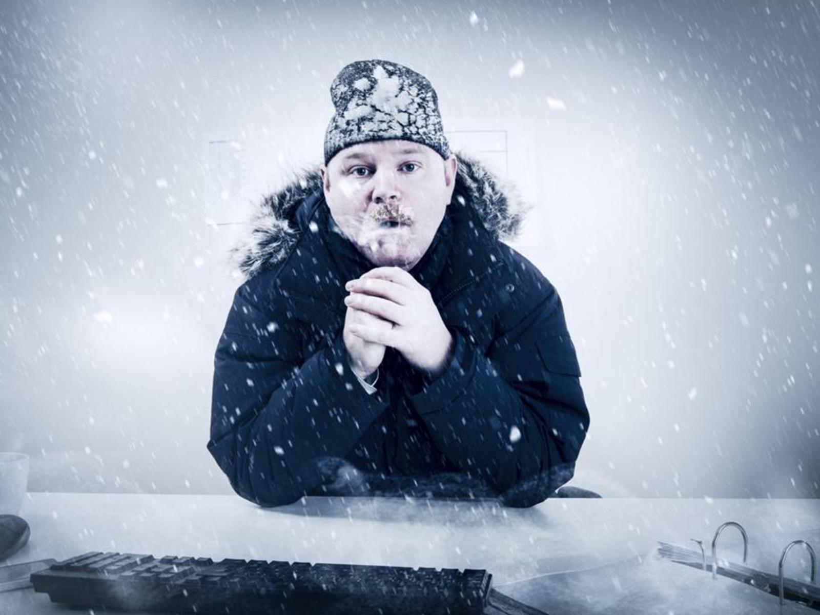 Koud warm in kantoortuinen