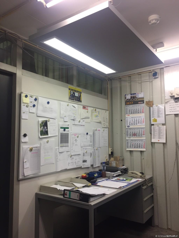 Magazijn werkplekverwarming