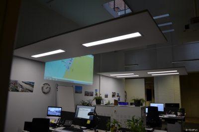 HeatFun werkplek verwarming plafondverwarming