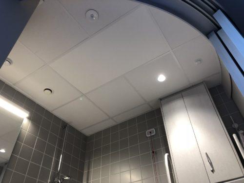 Systeemplafond verwarming